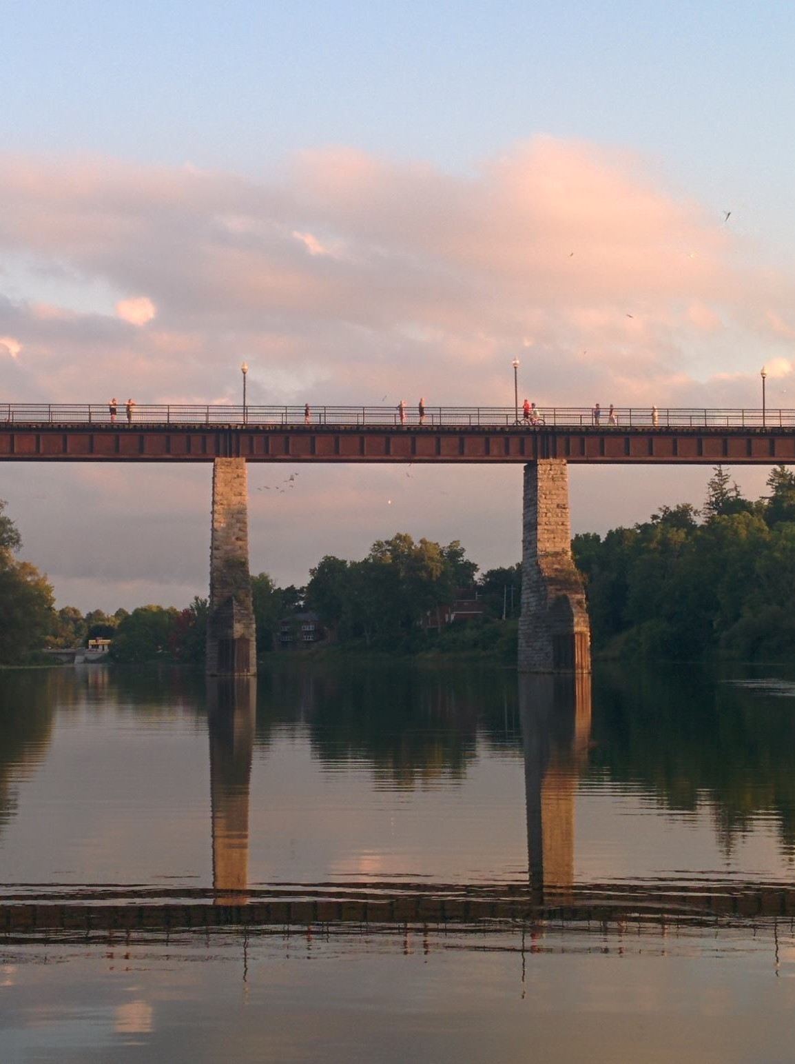 Trestle summer sunset