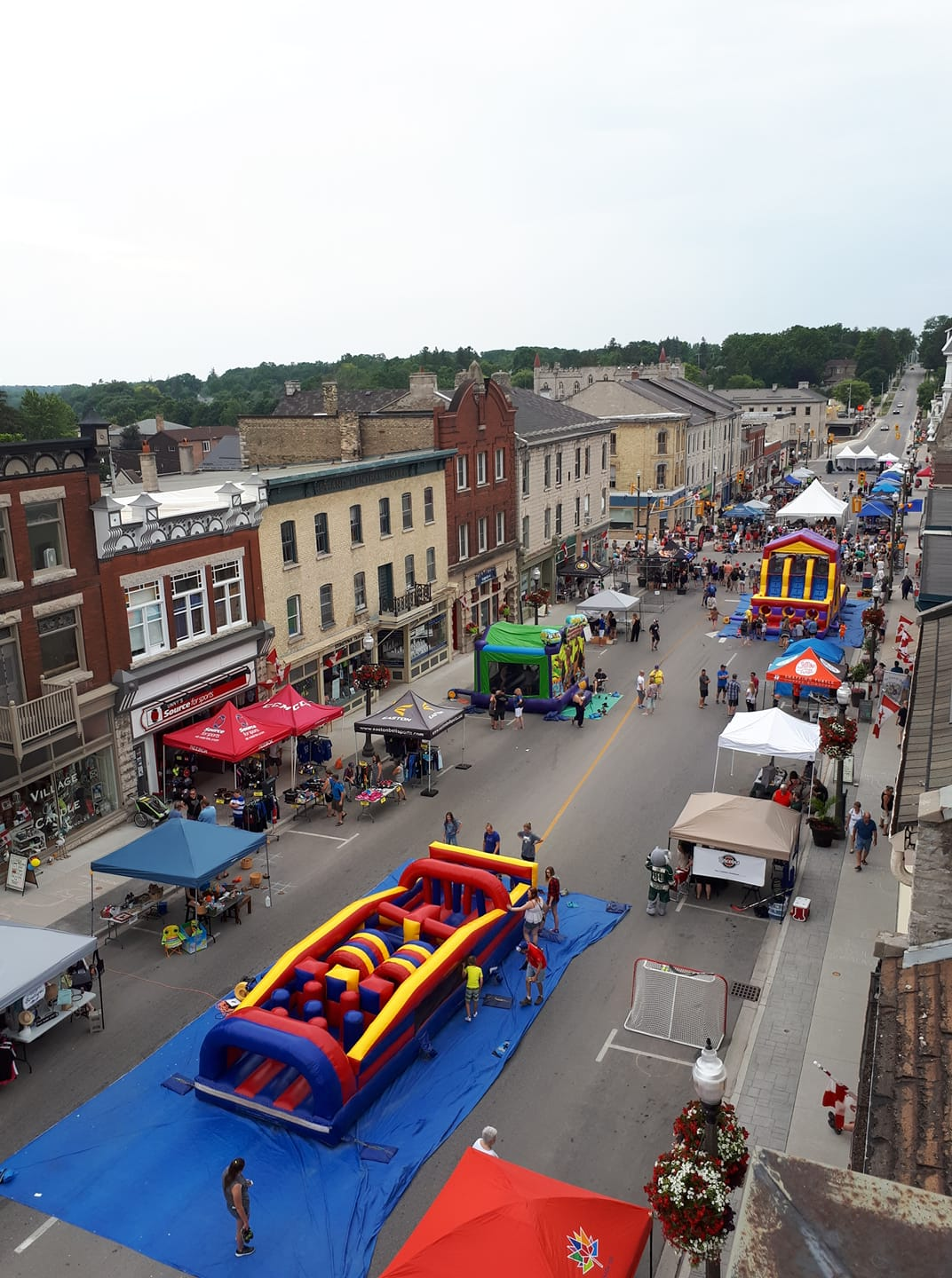Aerial view of Heritage Festival