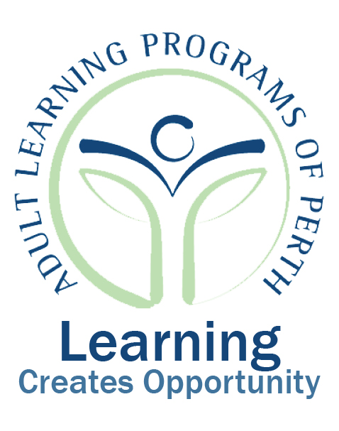 Adult Learning logo and tagline