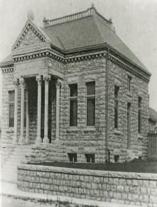 Historic Picture of a library building