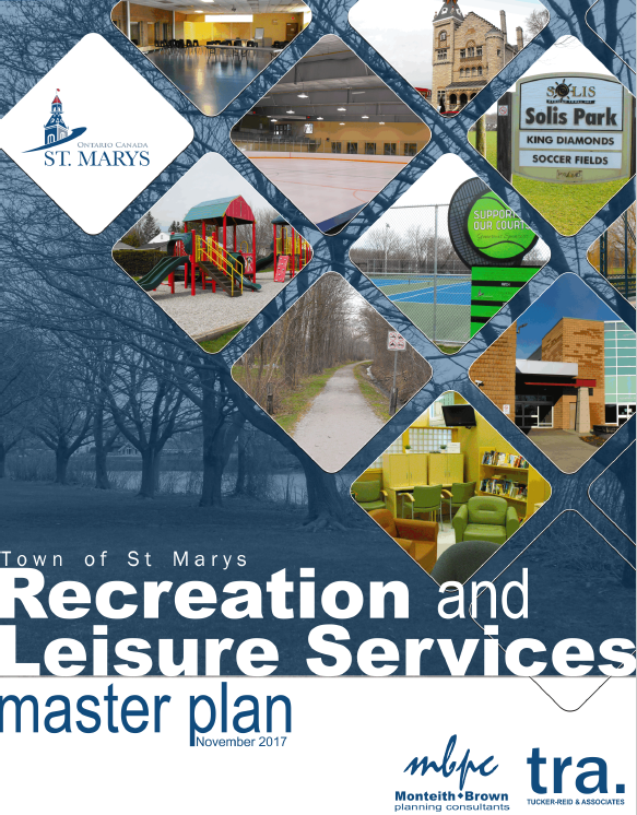 Cover of the Recreation and Leisure Services Master Plan