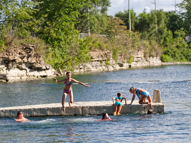Swimming Quarry - Town of St  Marys